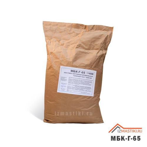 Мастика битумная кровельная горячая МБК-Г-65