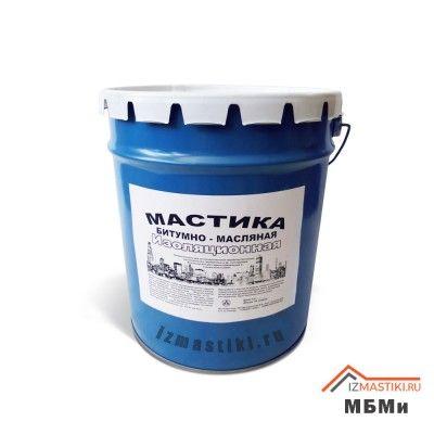 Мастика морозостойкая битумно масляная МБМи