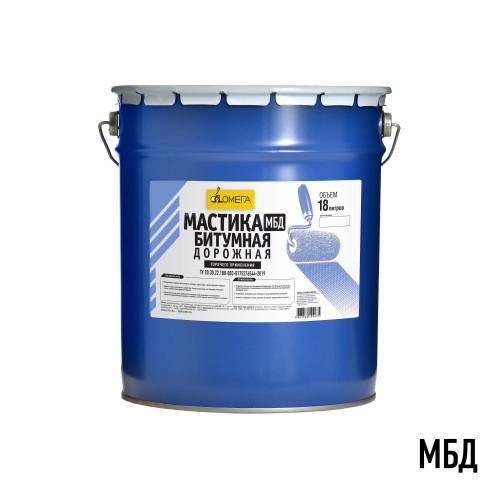 Мастика битумная дорожная горячая МБД-Г 18л