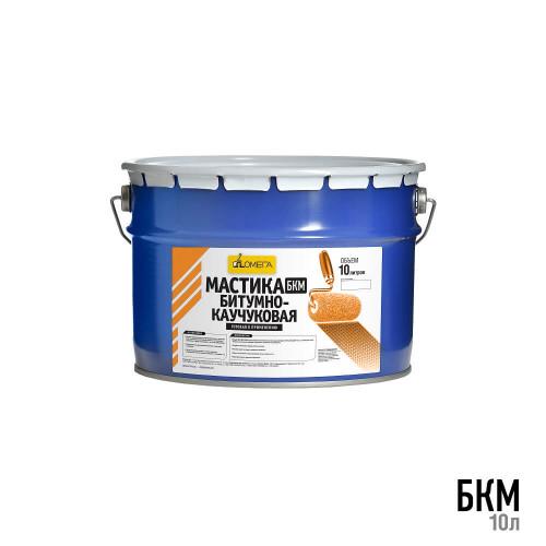 Битумно каучуковая мастика БКМ 10л