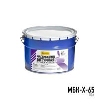 Мастика битумная кровельная холодная МБК-Х-65 10л