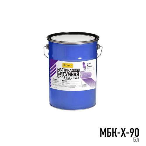 Мастика битумная кровельная холодная МБК-Х-90 5л