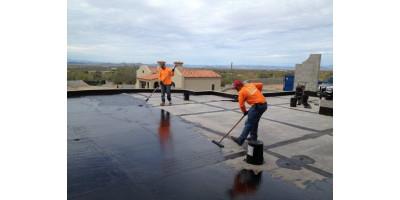 Битумная гидроизоляция бетона